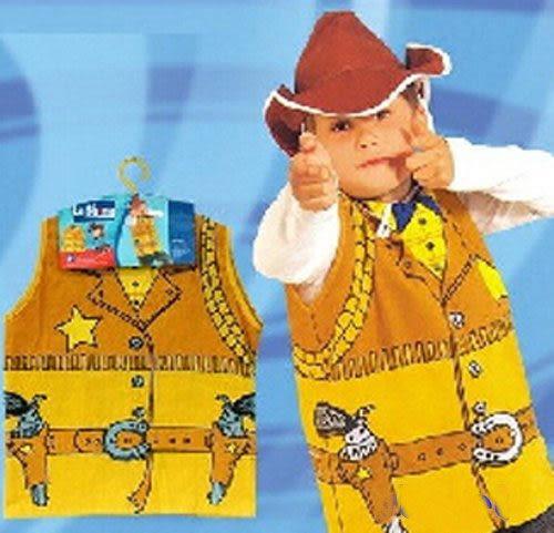 【牛仔裝扮服】兒童職業裝扮服裝萬聖節.聖誕節.舞會表演角色扮演職業衣服裝道具