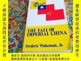 二手書博民逛書店THE罕見FALI OF IMPERIAL CHINAY1855