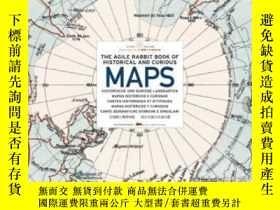 二手書博民逛書店The罕見Agile Rabbit Book Of Historical And Curious Maps (pe