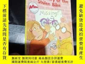 二手書博民逛書店the罕見mystery of the stolen bikeY