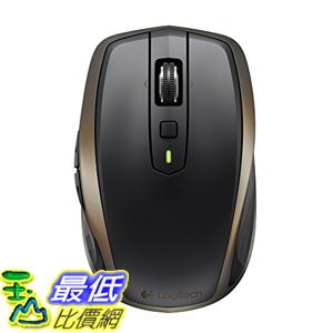 [美國直購] Logitech MX Master Anywhere 2  Mobile Mouse 滑鼠