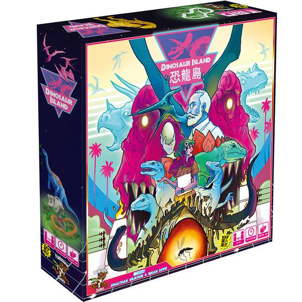 『高雄龐奇桌遊』恐龍島 Dinosaur Island 繁體中文版 正版桌上遊戲專賣店