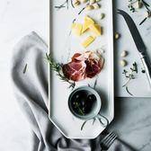 雙12鉅惠 朵頤創意餐盤西餐盤菜盤托盤長方形盤子魚盤家用盤瓷盤陶瓷盤創意