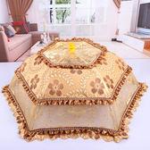 家用大號可折疊圓形菜罩飯菜罩餐桌罩食物罩防蠅剩菜碗傘蓋菜罩子XW  中元節禮物