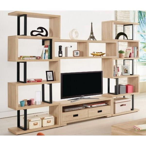電視櫃 MK-818-1 艾爾莎9.2尺組合電視櫃【大眾家居舘】