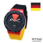 ATOP|世界時區腕錶-24時區國旗系列(德國)