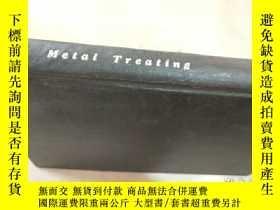 二手書博民逛書店metal罕見treating Vol.9 1958 金屬處理Y