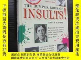 二手書博民逛書店THE罕見BUMPER BOOK OF INSULTS!