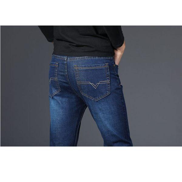 經典流行日系極簡原創設計造型百搭商務休閒牛仔褲