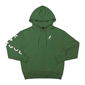 KANGOL 運動帽T 長袖 墨綠色 袋鼠刺繡 側邊字母LOGO 6055106672 noE44