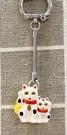 【震撼精品百貨】招財貓_招き猫~日本招財貓吊飾/鑰匙圈-一隊*23250