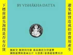 二手書博民逛書店[梵語英語]Rakshasa s罕見Ring by Vishakhadatta 戲劇指環印Y11869 Vis