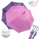 【日本雨之戀】鈦金奈米降溫10℃ -直立自動傘-美日4色-降溫傘/防脫膠/抗強風/超潑水
