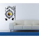 【收藏天地】RoomDeco*創意時鐘壁貼家飾-歐風招牌 /掛鐘 時鐘貼 居家 生活用品 時鐘 禮物