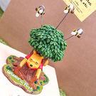 PGS7 日本迪士尼系列商品 - 進口 精緻 維尼 Winnie 嚐蜂蜜 卡樹 留言夾 擺飾【SDD71067 】