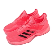 adidas 網球鞋 Adizero Ubersonic 3 W Tokyo 紅 女鞋 愛迪達 【ACS】 FX1828