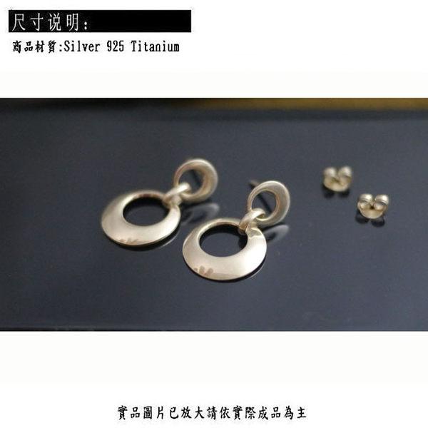 ╭☆ Silver shop ☆╯純銀 S925 耳環[ se 077 ]