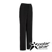 PolarStar 四向彈性抗UV休閒褲 女『黑』 顯瘦直筒褲│釣魚褲│露營│防曬褲│西裝褲 P16328