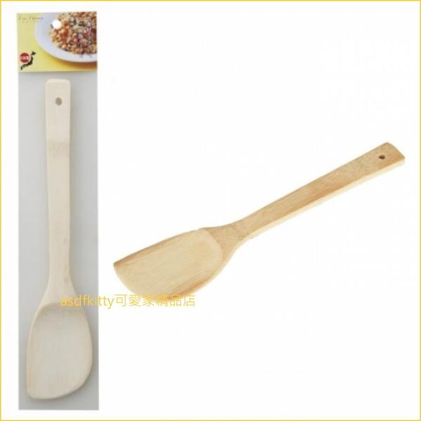 貝印 DH-7110 天然竹 木鍋鏟-輕薄好操作-可壓泥.煎玉子燒 不易傷不沾鍋-日本正版商品