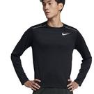 NIKE Dri-FIT 男裝 長袖 慢跑 訓練 排汗 黑【運動世界】AJ7569-010