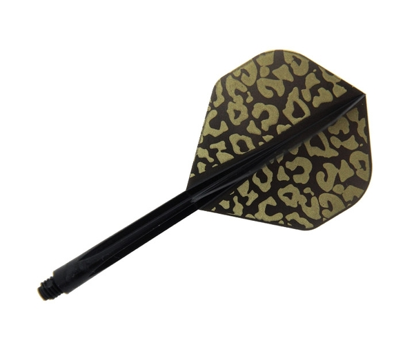 【CONDOR】Leopard Standard Long Black 鏢翼 DARTS