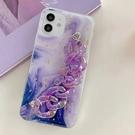 蘋果 iPhone12 Pro Max iPhone12 Mini Phone11 Pro Max 蘋果手機殼 紫色系列 手機殼 全包邊 軟殼 手帶 保護殼
