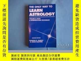 二手書博民逛書店The罕見Only Way To Learn Astrology, Vol. 2Y307751 Marion