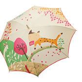 【iumbrella】無接縫一片傘  防曬抗UV、晴雨兩用-老鼠見貓