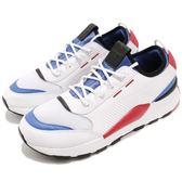 Puma 慢跑鞋 RS-0 Sound 白 藍 全新系列 電玩設計靈感 男鞋 運動鞋 Dad Shoes【PUMP306】 36689001