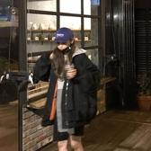 女棒球服 棉衣女飛行員夾克棉服秋冬季寬松加厚韓版原宿風bf學生外套 【免運】