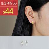 耳環 樹葉 簡約 造型 時尚 氣質 耳環【TSEW652-2】 BOBI  01/19