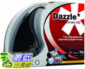 [106美國直購] 2017美國暢銷軟體 Dazzle DVD Recorder HD VHS to DVD Converter