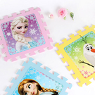 韓國進口 正版冰雪奇緣巧拼墊 FROZEN 雪寶 艾莎 安娜 遊戲墊 室內踏墊 拼圖地墊 軟墊 巧拼