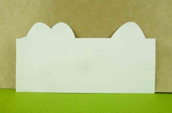 【震撼精品百貨】Hello Kitty 凱蒂貓~頭型卡片-紫愛心