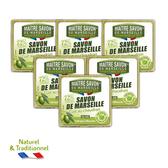 【法國玫翠思】傳統經典橄欖馬賽皂300g x6入