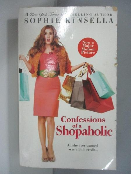 【書寶二手書T2/一般小說_AJC】Confessions of a Shopaholic_SOPHIE KINSELLA