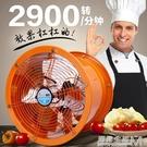 工業高速軸流抽風機排風換氣扇廚房家用油煙...