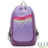 Backbager 背包族 【ELLE Active】律動系列-後背包_中(紫色)