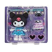 Sanrio 換裝娃娃組 擺飾玩偶 公仔 庫洛米 愛心眼鏡 紫