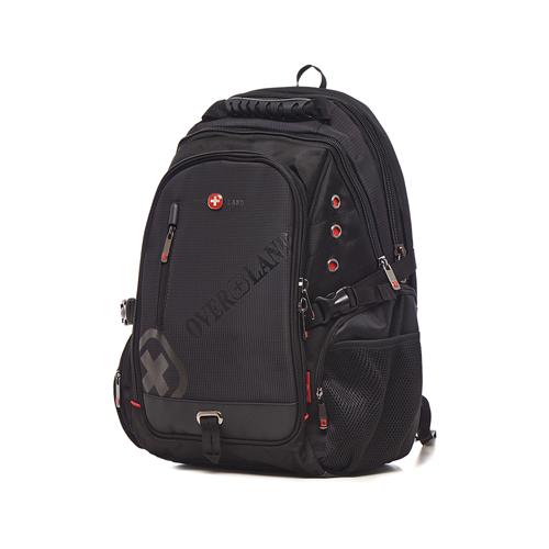 OVERLAND - 美式十字軍 - 品牌LOGO浮印多夾層後背包 - 30691