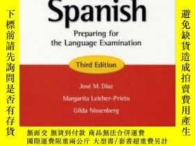 二手書博民逛書店Ap*罕見Spanish Preparing For The Language Examination, Thir