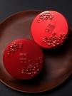 新款喜糖盒子紅色