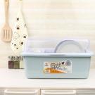 裝碗筷收納箱瀝水帶蓋