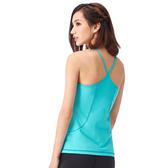 【MACACA】re美形側口袋背心-ASE1602(湖水綠)(瑜伽/慢跑/健身/輕運動)