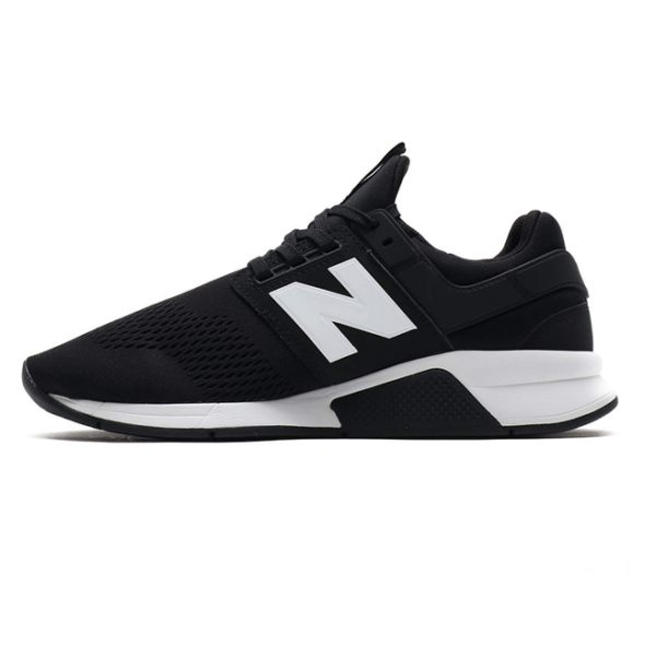 NEW BALANCE NB247 慢跑鞋網布襪套黑白 NO.MS247EB