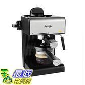 [7美國直購] 咖啡機 Mr. Coffee BVMC-ECM180 Steam Espresso with Starter Set, Black