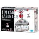《4M科學探索》Tin Can Cable Car 創意環保纜車 ╭★ JOYBUS玩具百貨