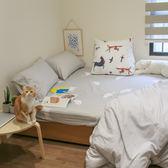 雪糕  S1單人床包二件組  100%精梳棉  台灣製 棉床本舖