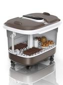 足浴盆器全自動按摩加熱泡腳桶雙人家用電動洗腳盆足療機恒溫220v-完美