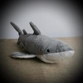 可愛鯊公仔 仿真鯊魚毛絨玩具 食人鯊玩具